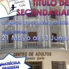 Carteles Matrícula Curso 2014/2015