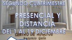 ADMISIÓN SEGUNDO CUATRIMESTRE 2016/17